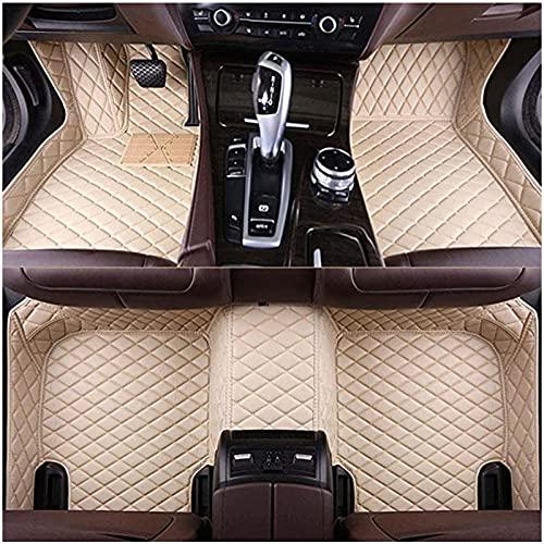 XIAOFEI Alfombrillas de piel para coche aptas para B-M-W X7 2020 de 7 plazas, lujosas almohadillas para los pies con cobertura completa