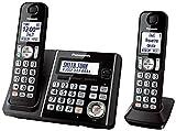 Best Panasonic Cordless Phones - Panasonic KX-TG3752B Expandable Cordless Phone with Call Block Review