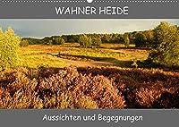 Wahner Heide - Aussichten und Begegnungen (Wandkalender 2022 DIN A2 quer): Impressionen der Wahner Heide, ein kleines aber artenreiches Naturschutzgebiet wird in seiner vielfaeltigen Schoenheit hier vorgestellt. (Monatskalender, 14 Seiten )