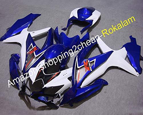 GSXR600 GSXR750 - Kit de carenado para GSXR 600 K8 750 08 09 10 GSX-R 600 750 2008 2009 2010 (moldeo por inyección)