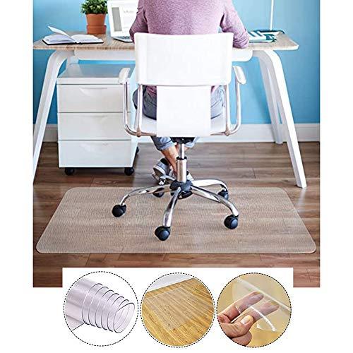 Tischdecken XJJUN PVC Tischdecke Mattiert Stuhlkissen Durchscheinende Tischmatte Filet Wasserdicht Ölbeständig Dauerhaft Einfach Zu Säubern Anpassbar (Color : 1.5mm, Size : 90x160CM)