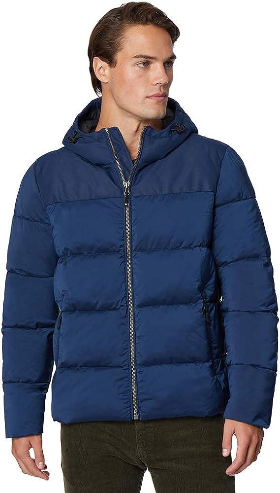32 DEGREES HEAT Men's Hooded Winter Down Alternative Parka Heavy Puffer Jacket