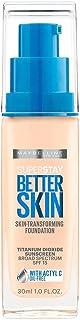 Maybelline New York Super Stay Better Skin Foundation, Ivory, 1 fl. oz.