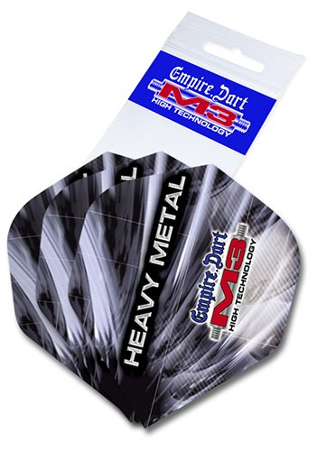 Empire Dart Flight-Set M3 Polyester extra Strong Standard Heavy Metal