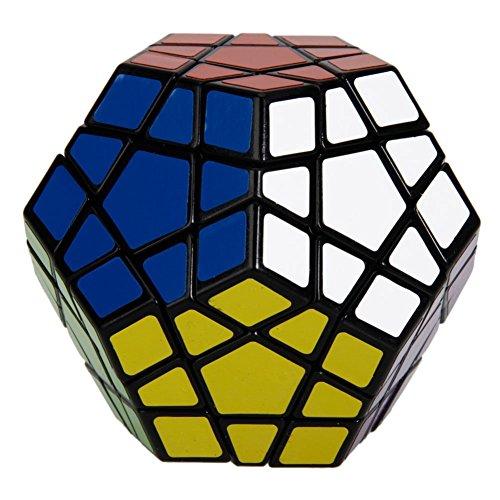 Coolzon® Zauberwürfel Megaminx Dodekaeder Magic Cube spezielle Denksportaufgaben Puzzle Spielzeug, Schwarz