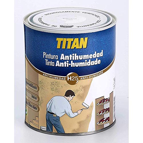 Titan M41890 - Pintura antihumedad 750 ml