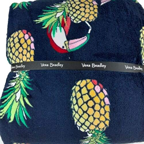 Vera Bradley Throw Blanket Toucan Party