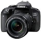Canon EOS Rebel 800D/T7i 24 Megapixel DSLR with...