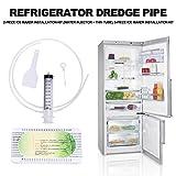Kousa Kühlschrank-Ablasslochentferner, 5 Stück, wiederverwendbar, für den...