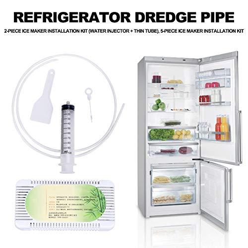 Kit d'installation pour la sorbetière - Raccordement de conduite d'eau et kit d'installation pour la sorbetière - Durable, pratique - Tuyau de raccordement pour réfrigérateur - Pour système RO.