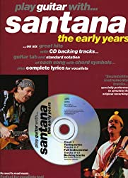 Partition : Santana Play Guitar With Early Years + Cd