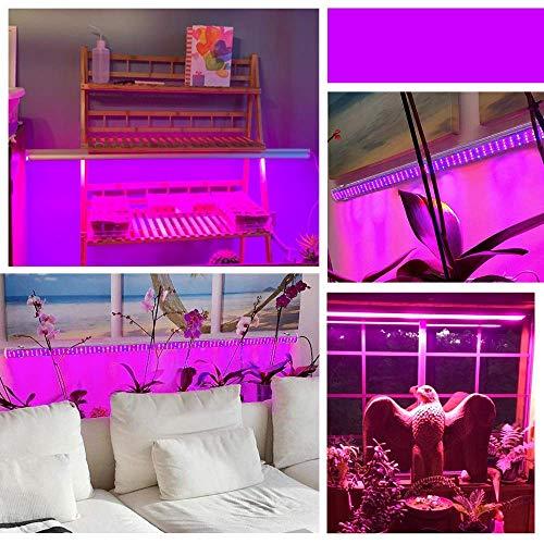 LED Grow Light Bande Roleadro LED Horticole 150W 2G11 Lampe Horticole LED Full Spectrum IP65 avec Lumière IR Bleue Rouge 2700K 6500K pour Grow Box/Serre Plants Germination,Floraison (105cm)