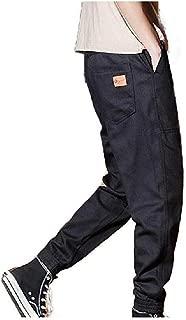 Men's Tapered Workwear Ranger Pant Long Pants Oversized Training Pant Navy Blue Medium
