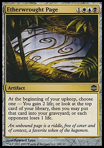 Magic: the Gathering - Etherwrought Page - Alara Reborn