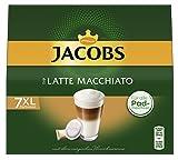 Jacobs Kaffeepads Latte Macchiato, 84 Senseo kompatible Pads, 6er Pack, 6 x 7 Getränke