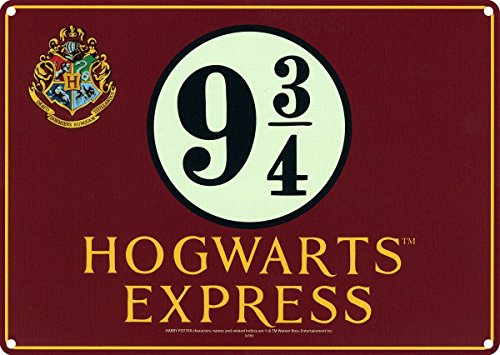 Enseigne Harry Potter A5 Poudlard Express