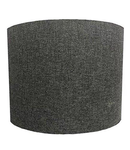 DELPH DESIGN LIGHTING LTD 25,4cm Table Grey Linen Material Lampshades