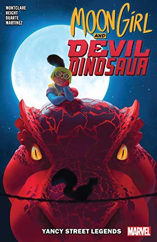 Moon Girl and Devil Dinosaur Vol. 8: Yancy Street Legends (Moon Girl and Devil Dinosaur (2015-2019)) (English Edition)
