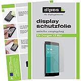 dipos I 6X Schutzfolie matt kompatibel mit Doogee X5 Max Folie Bildschirmschutzfolie