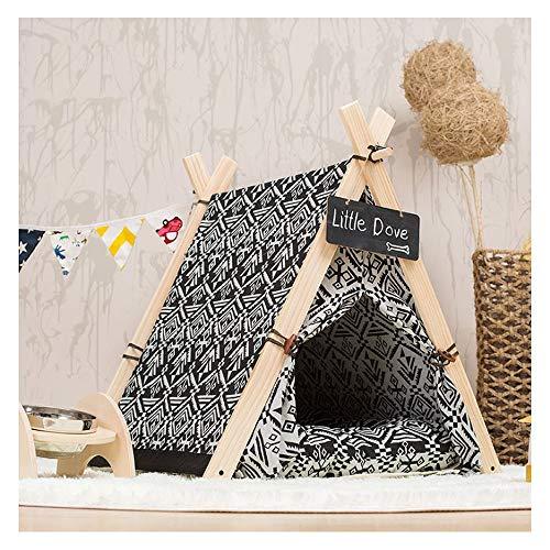 GDDYQ huisdier tent kat hond spel huis nationale mode stijl kan worden verwijderd om het zoete huis schoon te maken, een verscheidenheid aan opties Small Tent
