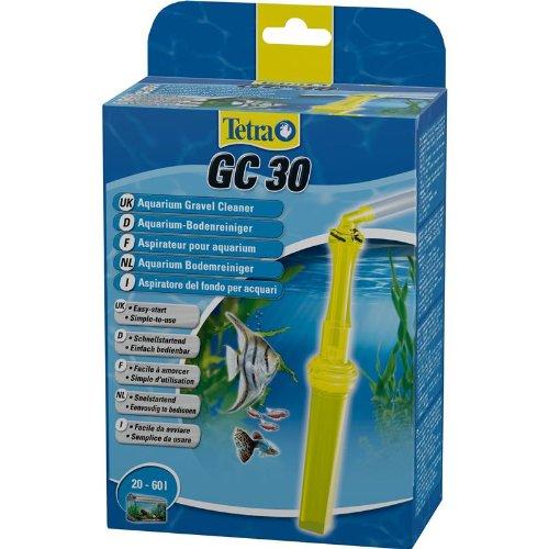 Tetra GC 30 Komfort Aquarien-Bodenreiniger, mit Schlauch, Schnellstartventil und Fischschutzgitter, geeignet für Aquarien 20 bis 60 Liter