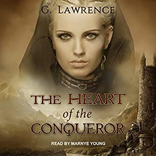 The Heart of the Conqueror audiobook cover art