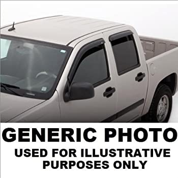Fits Ford Excursion 2000-2002 AVS Ventvisor Window Visors Rain Deflector Guards