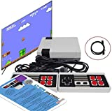 Texas Deluxe HDMI Retro Classic Video Game Console 621 in 1 Built-in Plug and Play Video Games (Some are Repeated) with 2 Controllers Handheld Games for Kids & Adults