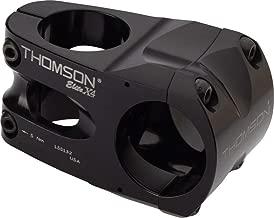 Thomson Elite X4 Stem: 35mm clamp, 50mm Long, 0 Degree Rise, Black