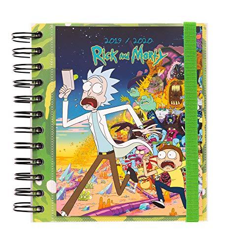Agenda escolar 2019/2020 día página M Rick & Morty