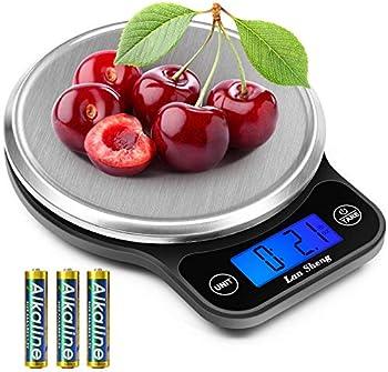 Lansheng 13lb/6kg Stainless Steel Digital Food Scale