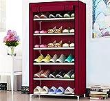 Pared pintura Polvo Simple Shoes Plataforma Multiuso Simple Estante Espacio Dormitorio Dormitorio Zapato Taburete Cambiar Zapatos (Color : #1)