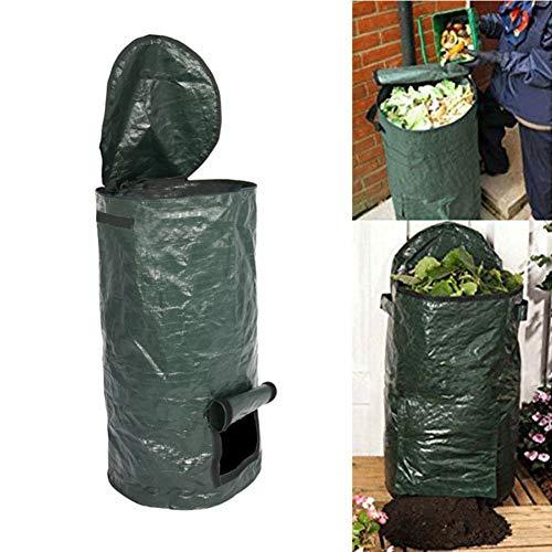 Buy Discount Organic Fertilizer Bag,Foldable Compost Bag Portable Ferment Trash Can, Kitchen Garbage...