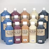 All In One Leather Colourant. / For Restoration & Re-Colouring (Blue, 1000ml/1 litre)