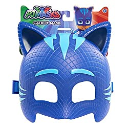 Transform into your favorite PJ Masks hero with this officially licensed Character Mask! This high quality mask is made of durable plastic in Catboy's signature colors and can be paired with the PJ Masks Dress Up Set (sold separately) for the ultimat...