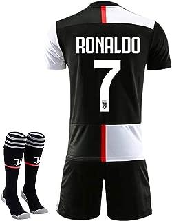 New 19-20 Season 7 Ronaldo Juventus Home Kids/Youth Soccer Jersey