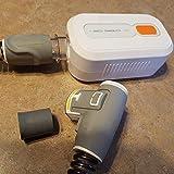 ewrwrwr Limpiador CPAP Desinfectante con Adaptador CPAP Soporte CPAP Máquina Máscara Arnés Accesorios para Tubos de Manguera