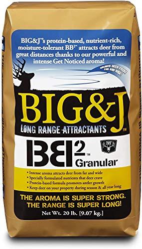 BIG & J BB2 Deer Nutritional Supplement/Attractant, 20-lb. Bag
