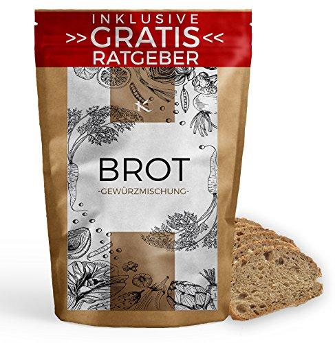 Brotgewürz Gewürzmischung 100g | Brotgewürzmischung Gewürzspezialität inkl gratis Ratgeber hochwertiges Küchengewürz für Brot Brotwürzer Würzmischung