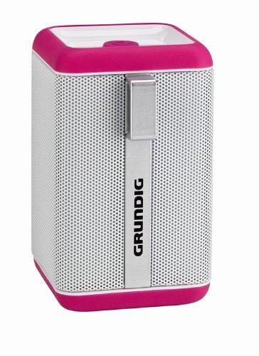 Grundig GSB 110, Bluetooth Lautsprecher, pink/white