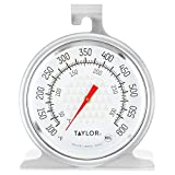 Taylor 3506 TruTemp Series Oven/Grill Analog Dial Thermometer with Dual-Scale