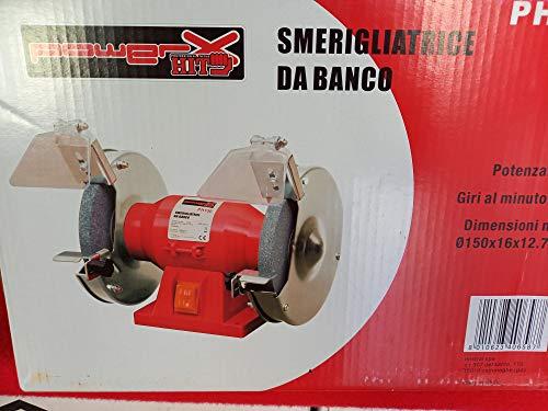 Amoladora doble de banco W 150 mm 150 garantía 2 años HIT