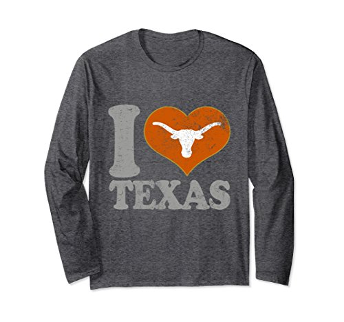 Unisex Texas T Shirt Men Women Youth Sports Fan Football Gear Kids XL: Dark Heather