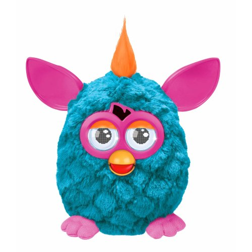 Hasbro – A3147 – Furby – Bleu Turquoise & Rose – Version Anglaise (Import Royaume-Uni)