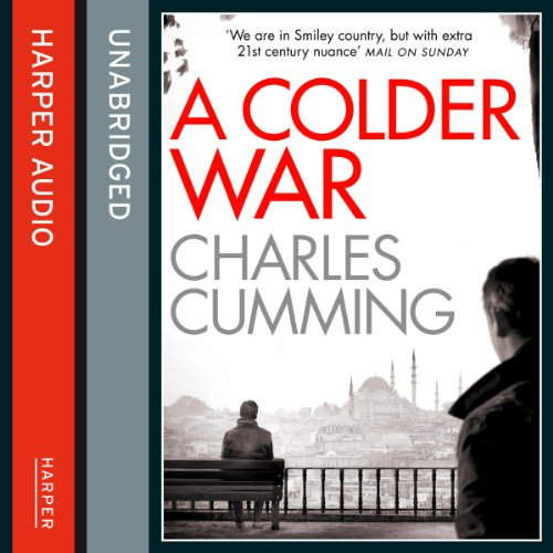 A Colder War                   By:                                                                                                                                 Charles Cumming                               Narrated by:                                                                                                                                 Jot Davies                      Length: 12 hrs and 1 min     194 ratings     Overall 4.3