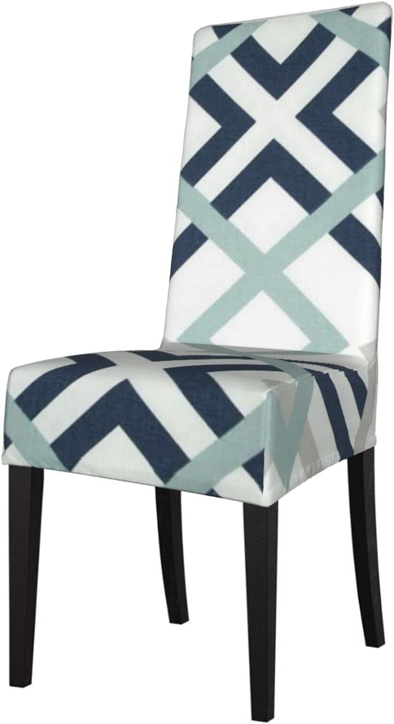 Genuine QUAVZI 2PCS Stretch Chair Covers for and A Navy Dining Genuine Blue Room