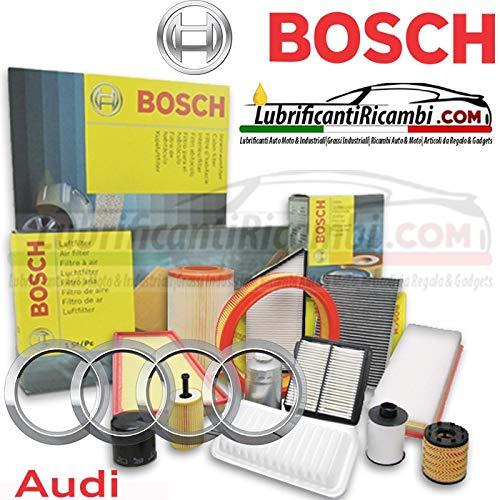 Tecneco Kit 4 filtres originaux BOSCH (f026407157, f0264028207, f026400287, 1987432599)