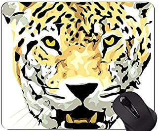 Gaming Mouse Pad,Jaguar Cat Family Leopard Mouse Pads