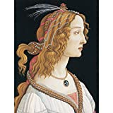 Sandro Botticelli Portrait Young Woman Painting Large Wall