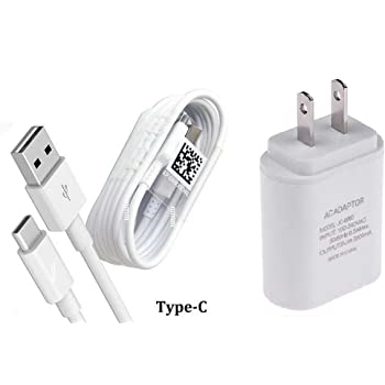 Wall Home Travel Charger USB 3.1 Type C Cable Charger Cable for ZTE Z MAX Pro//ZMAX Pro//Carry Z981 Type C Wall Charger
